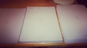 My manuscripts: one novella and two novels - not related to each other