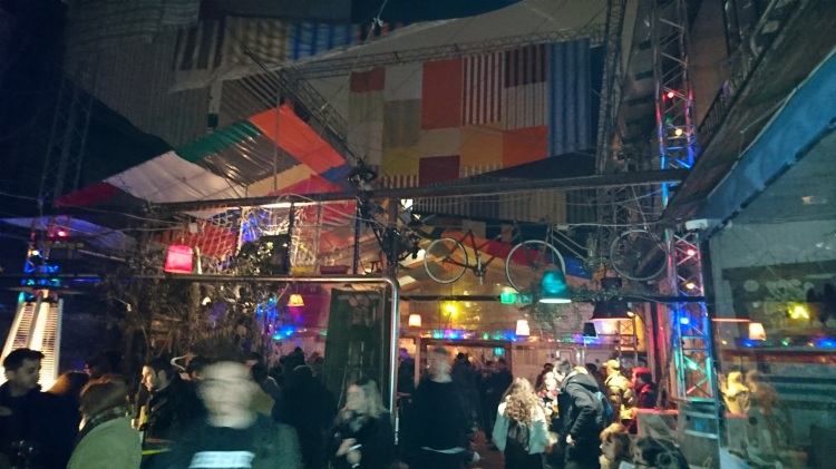Out back at Szimpla Kert