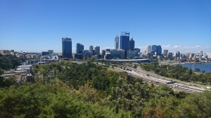 One of the views of Perth from King's Park