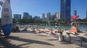 Brisbane's artificial beach