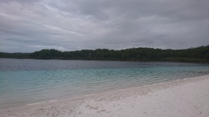 Lake McKenzie on Fraser Island