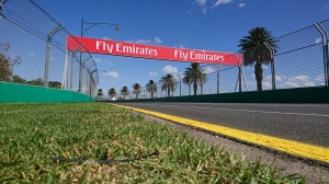 Albert Park before the F1