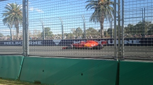 One of the Ferrari's