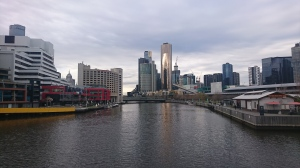 Melbourne from the river