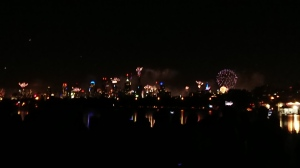 New Years Eve fireworks in Melbourne