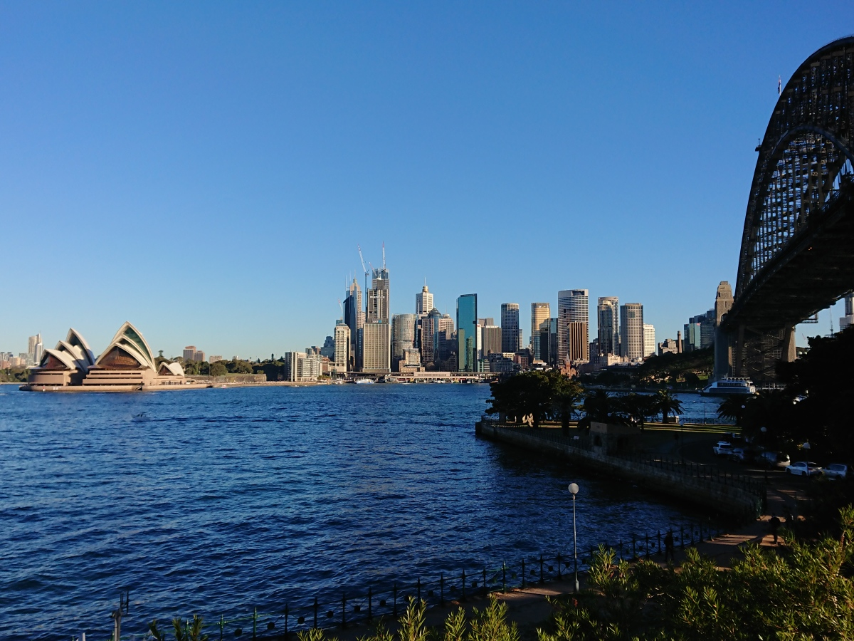 The CBD and Opera House from North Sydney