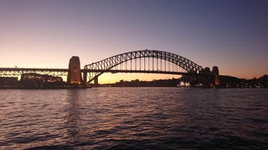 Sunset with Sydney Harbour Bridge