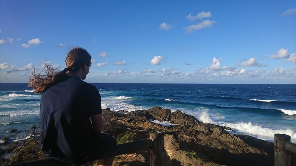 The view on the coastal walk at Byron Bay
