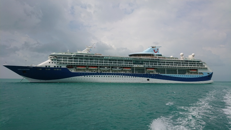 The cruise ship I called home for two weeks