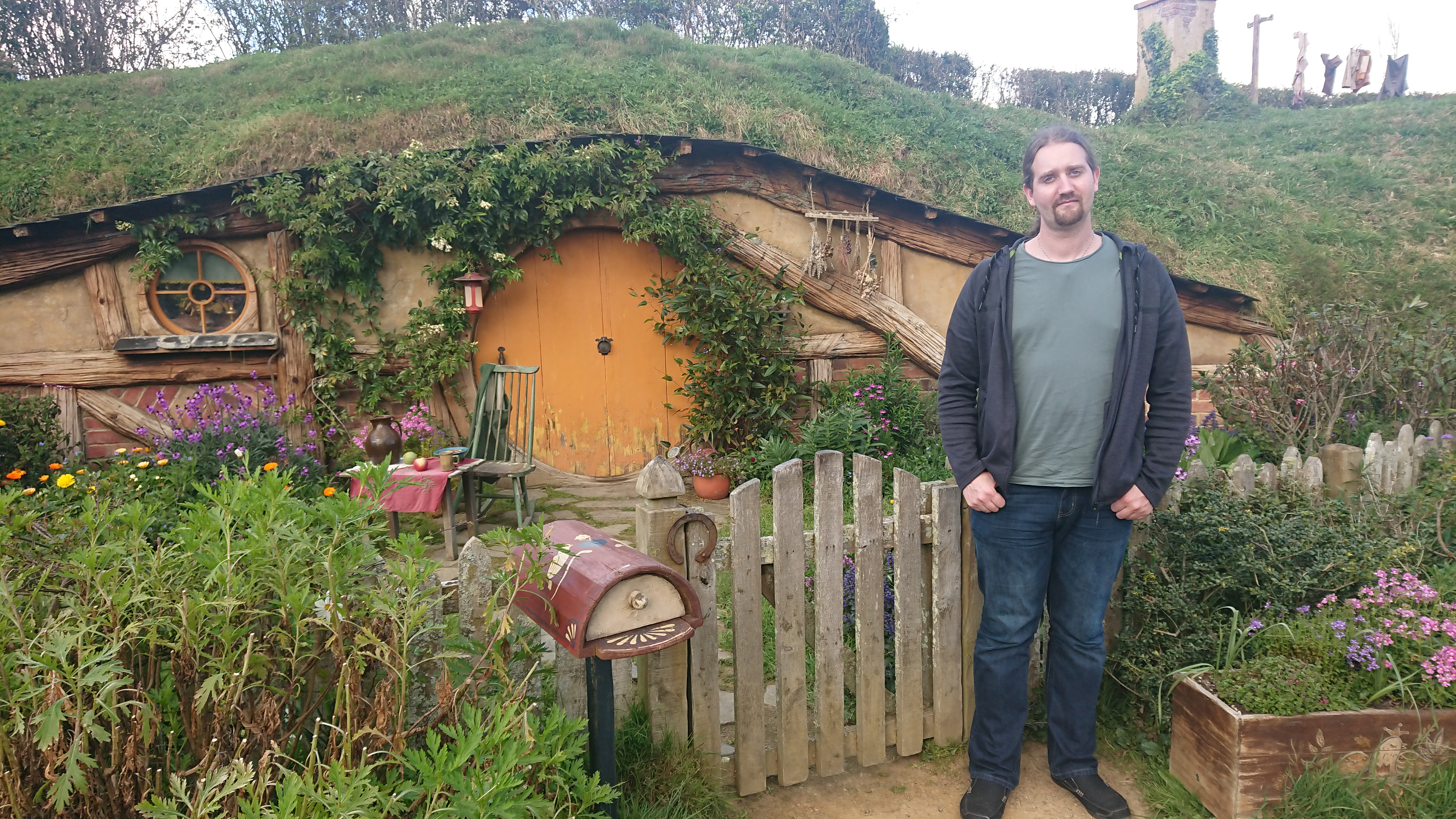 One of the many Hobbit holes of various sizes