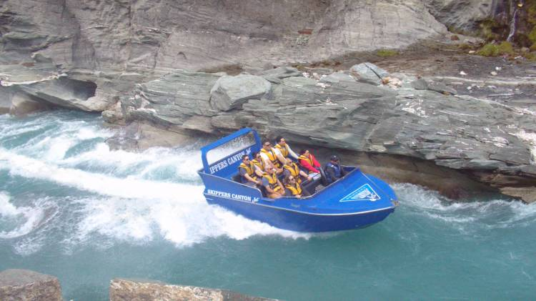 Skippers Canyon Jet boat ride