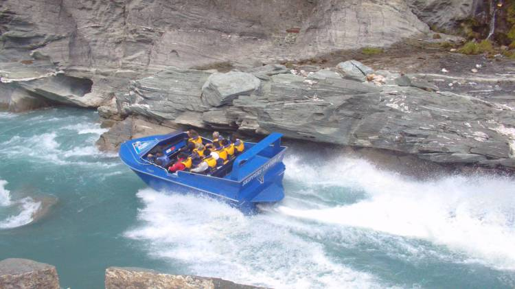 Skippers Canyon Jet rides reach quite the speed