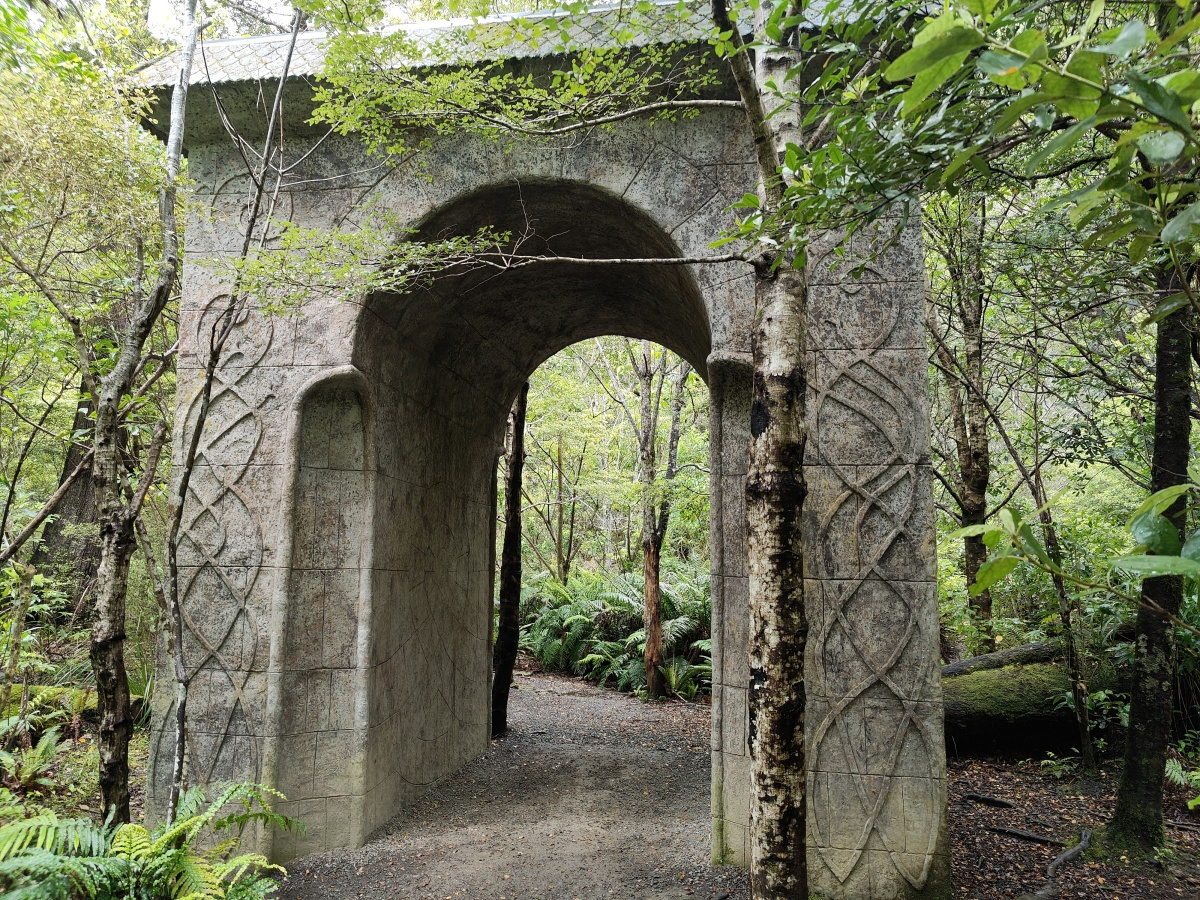 The Rivendell arch