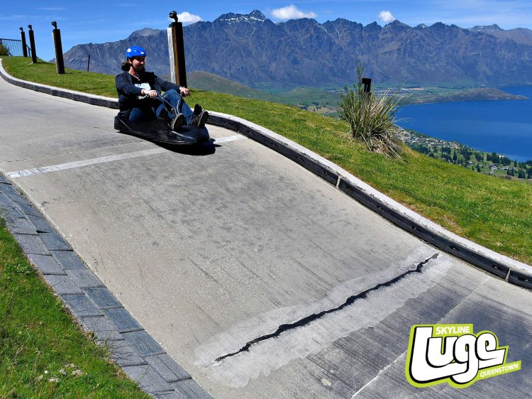 Queenstown Skyline Luge is a great thrill with scenic views
