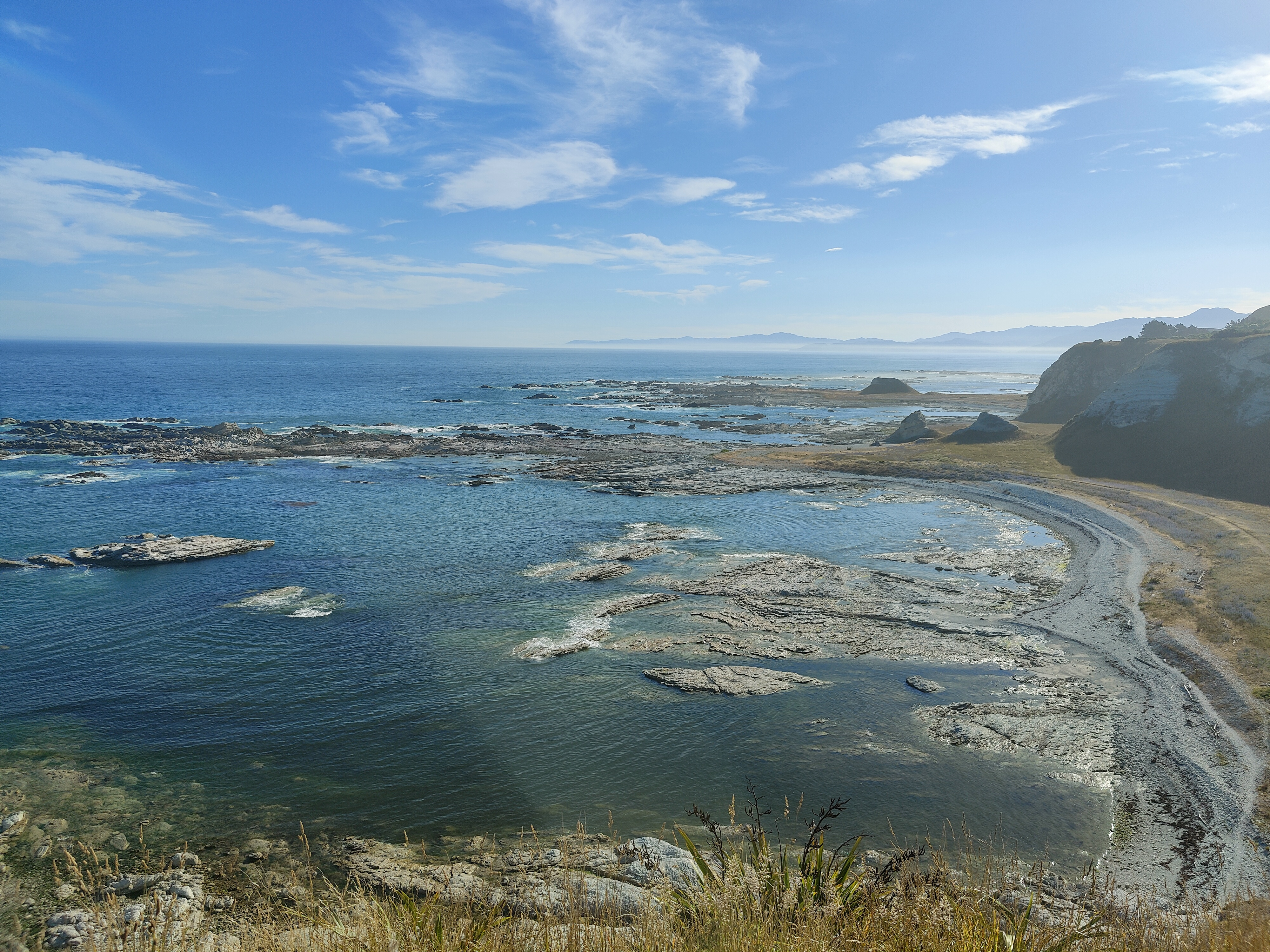 Another view from the Kaikoura Peninsula Walkway