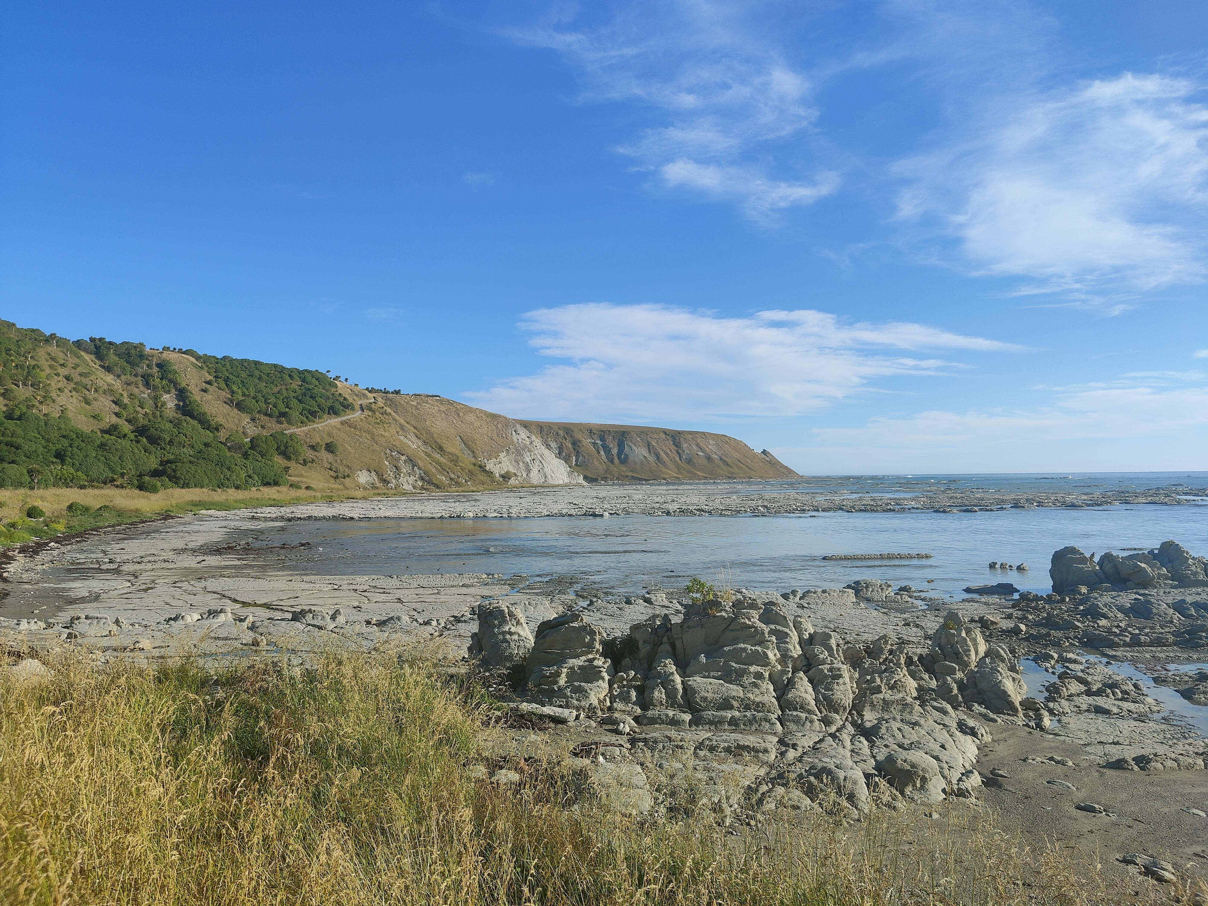 One of the last bays on the Kaikoura Peninsula Walkway