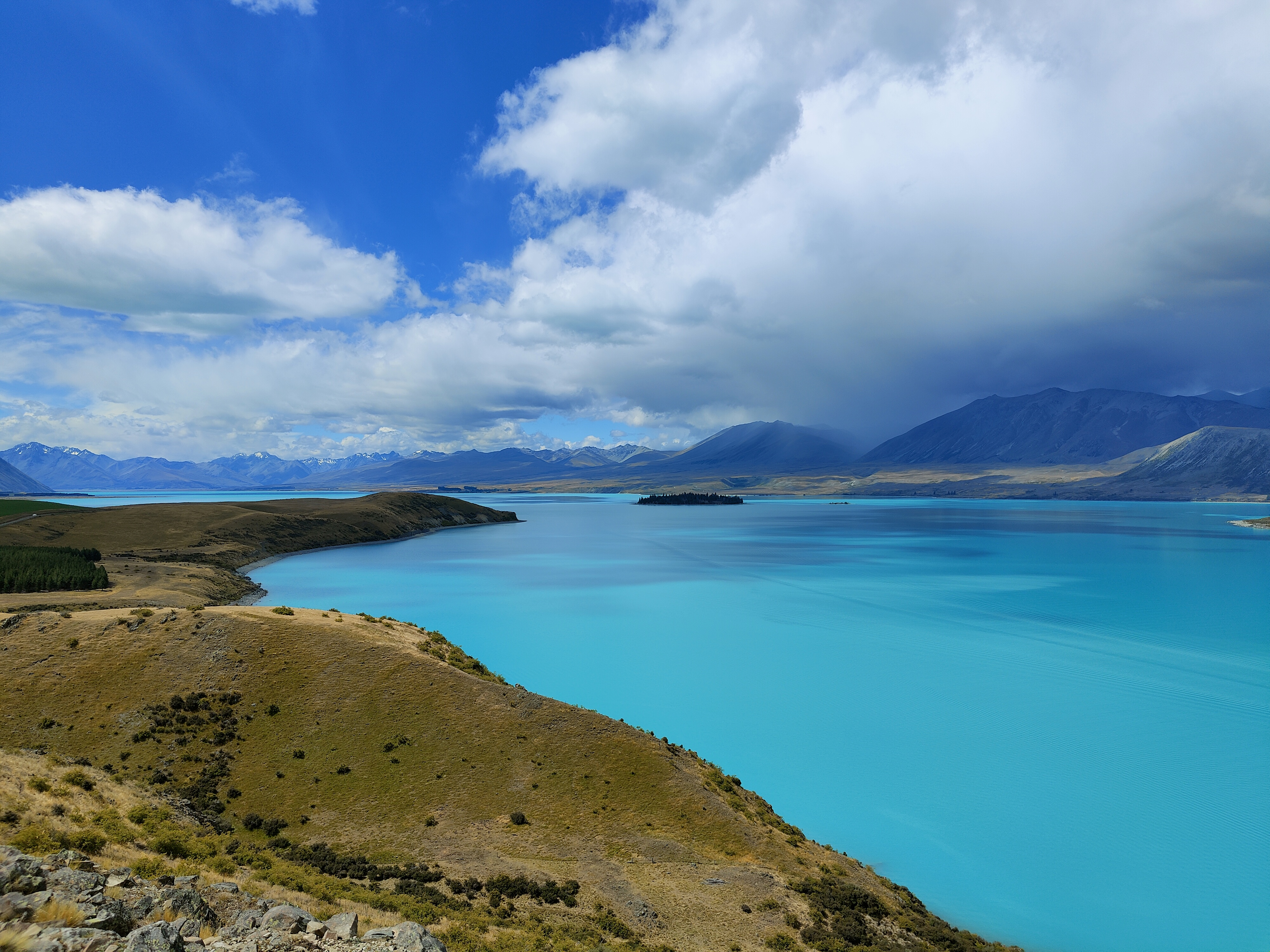 Lake Tekapo from the Mt John walkway