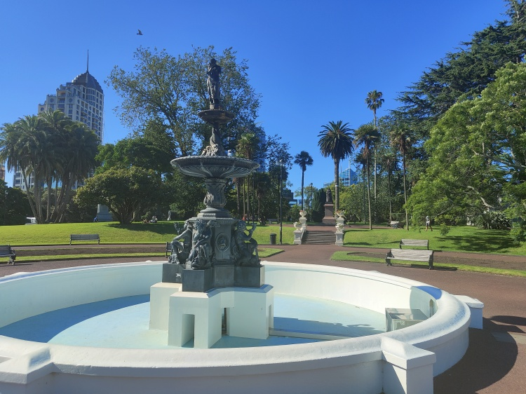 Albert Park in Auckland CBD